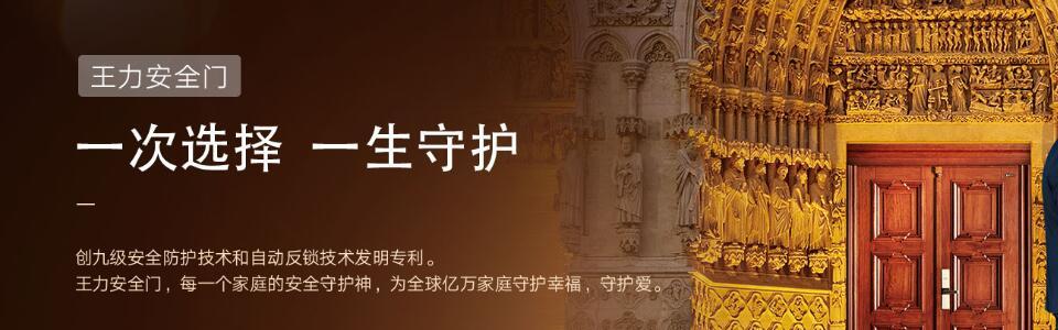 王力防盗门形象图