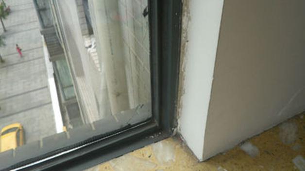 窗户和墙连接处渗水
