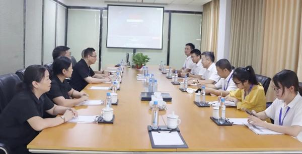 抓经济促发展|武义县副县长一行来访金凯德